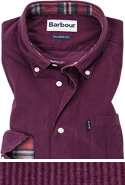 Barbour Hemd Morris merlot MSH4049RE94