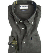 Barbour Hemd Don dark olive