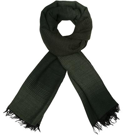 Strellson Schal STSC-Isak : Strellson Schal STSC-Isak  Herren in schwarz & grün aus Wolle