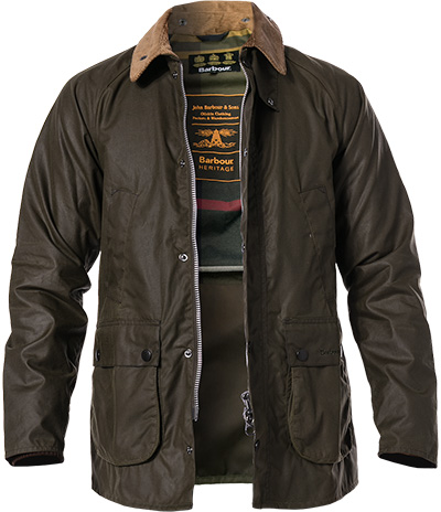 Barbour Jacke SI Bedale olive