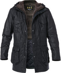 Barbour Jacke Oakum Wax navy