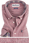 Barbour Hemd Oxford dark red MSH3230RE92