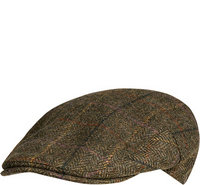 Barbour Moons Tweed Cap olive