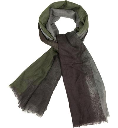CODELLO Schal : CODELLO Schal  Herren in grün aus Seide & Wolle