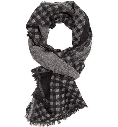 CODELLO Schal : CODELLO Schal  Herren in schwarz aus Wolle