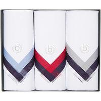 bugatti Taschentücher 3er Pack