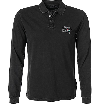NAPAPIJRI Polo-Shirt black