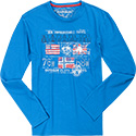 NAPAPIJRI T-Shirt mountain blue N0YH2WBA1