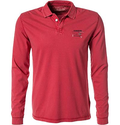 NAPAPIJRI Polo-Shirt sparkling red