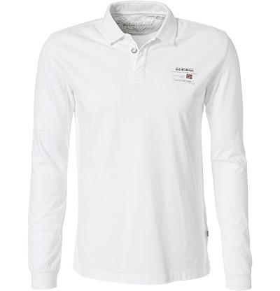 NAPAPIJRI Polo-Shirt bright white