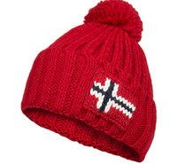 NAPAPIJRI Mütze sparkling red