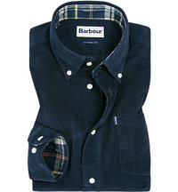 Barbour Hemd Morris navy