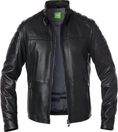 BOSS Green Lederjacke Jeron 50373284/001