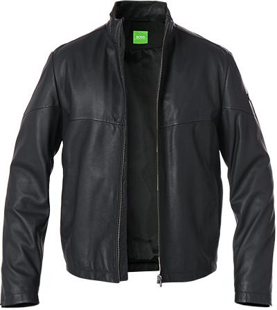 BOSS Green Lederjacke Jayven 50372546/001