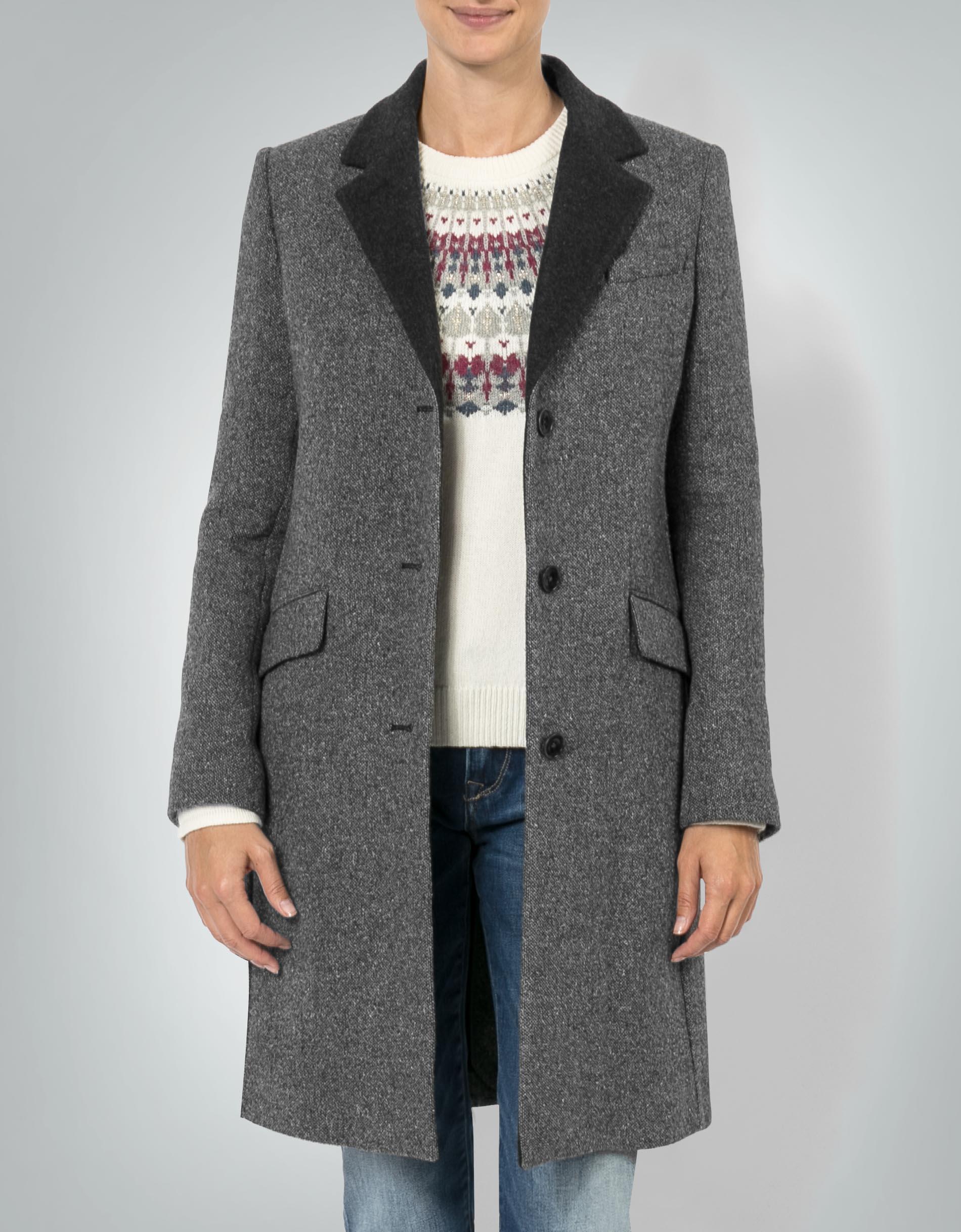 Gant mantel grau