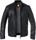 BOSS Orange Lederjacke Jeeper 50375212/001