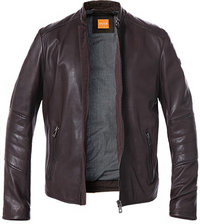 BOSS Orange Lederjacke Jeeper