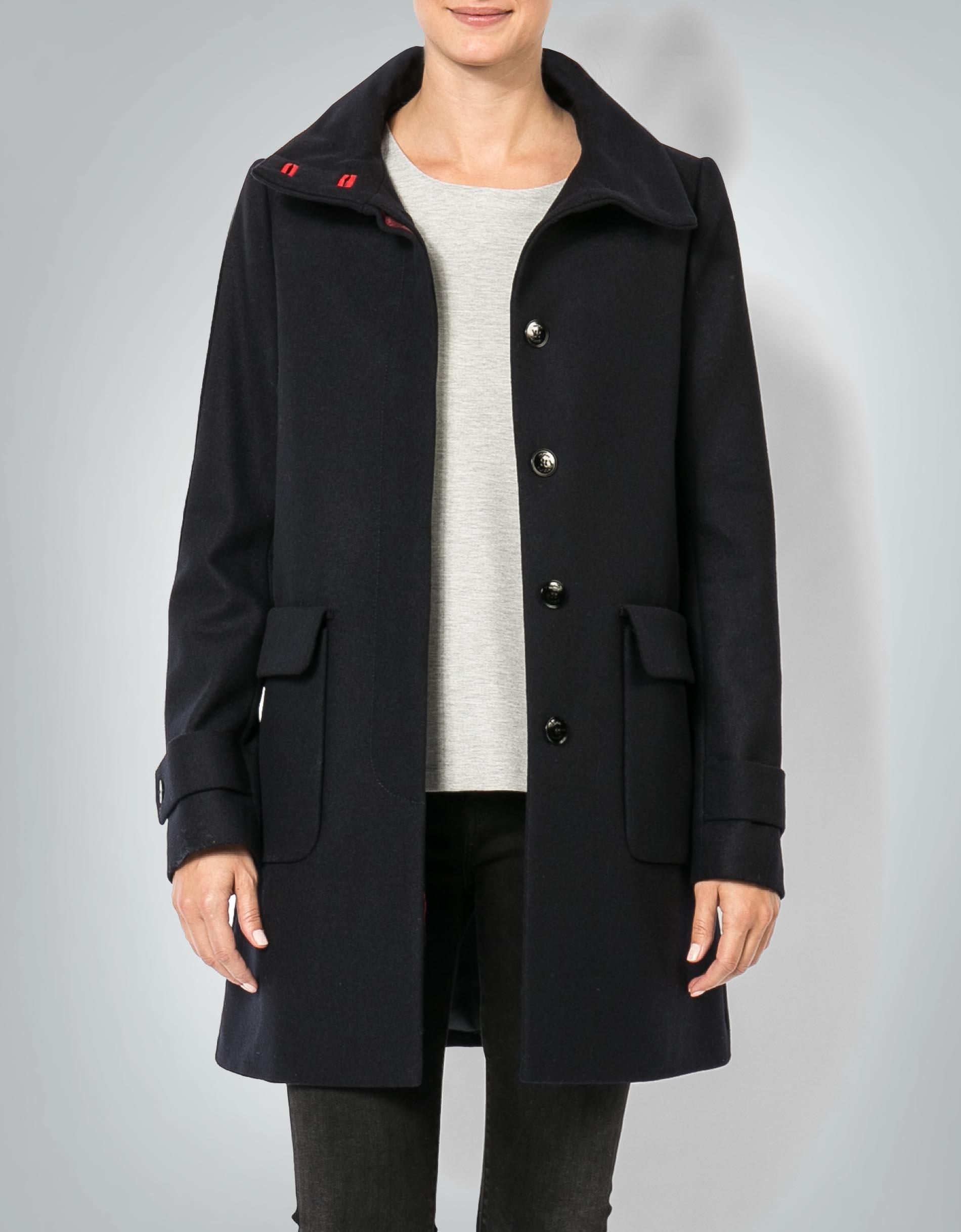 promo code 4ee83 76697 Tommy Hilfiger Damen Mantel in Woll-Qualität empfohlen von ...