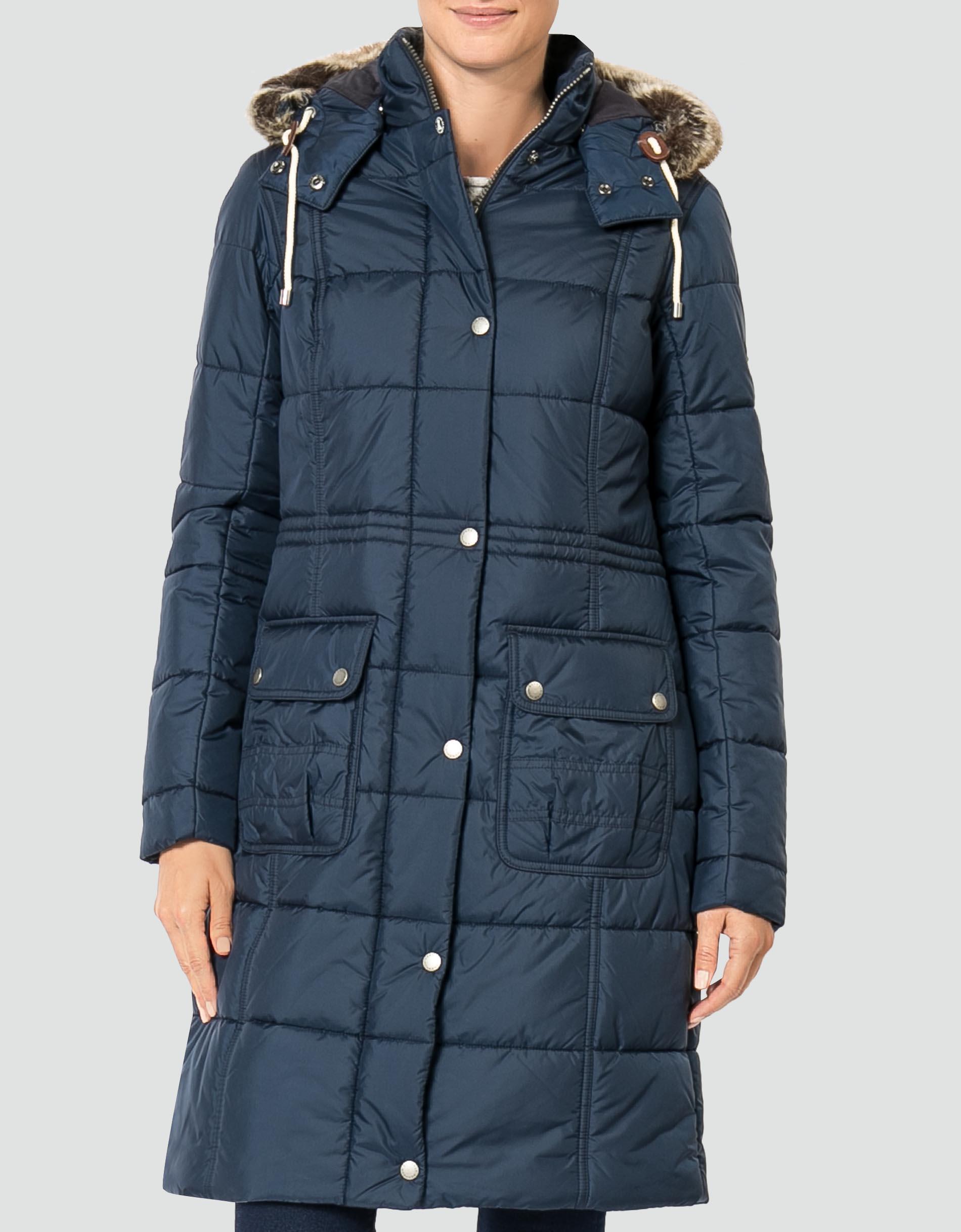 Barbour winter mantel