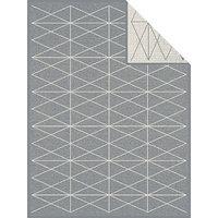 bugatti Jacquard Decke grau