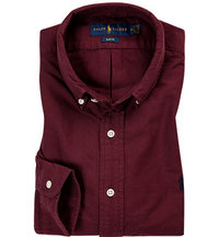 Polo Ralph Lauren Hemd fall burgundy