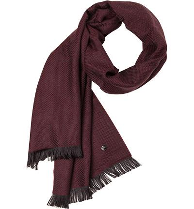 LAGERFELD Schal : LAGERFELD Schal  Herren in rot aus Wolle