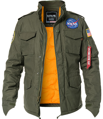 ALPHA INDUSTRIES Jacke Heritage NASA 178113/142