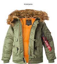 ALPHA INDUSTRIES Kids VF