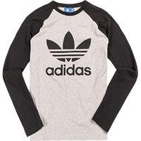 adidas ORIGINALS Longsleeve grey/black