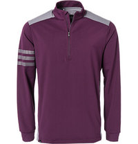 adidas Golf Pullover red night