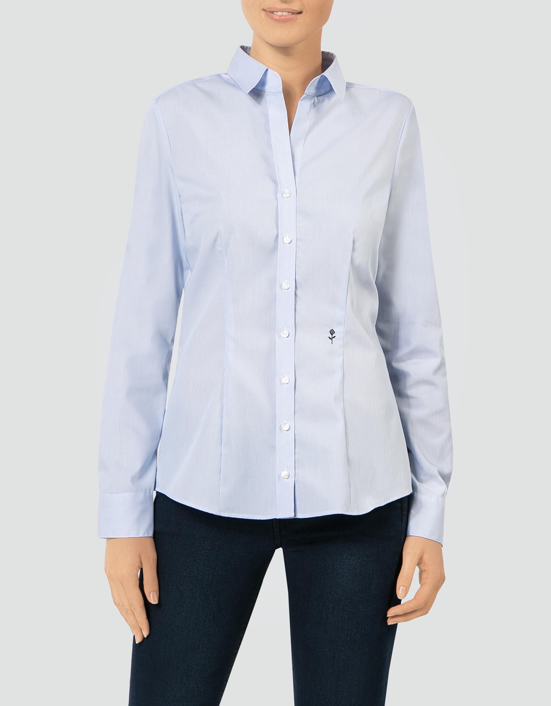 edc4c3a716af Seidensticker Damen Bluse Slim im Streifen-Look empfohlen von Deinen  Schwestern