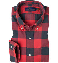 Polo Ralph Lauren Hemd red/black