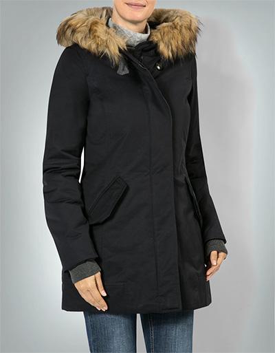Marc O'Polo Damen Mantel mit Wattierung Schwarz