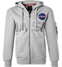 ALPHA INDUSTRIES Hoodie Nasa 178326/17