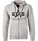 ALPHA INDUSTRIES Zip Hoodie Basic 178325/17