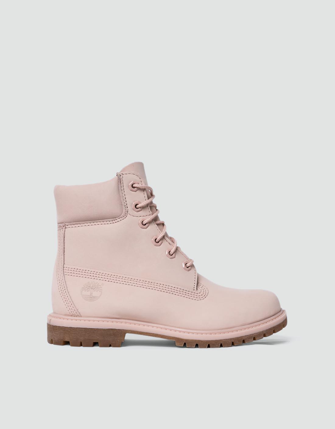 Timberland Damen Schuhe cameo rose Stiefelette mit markanter
