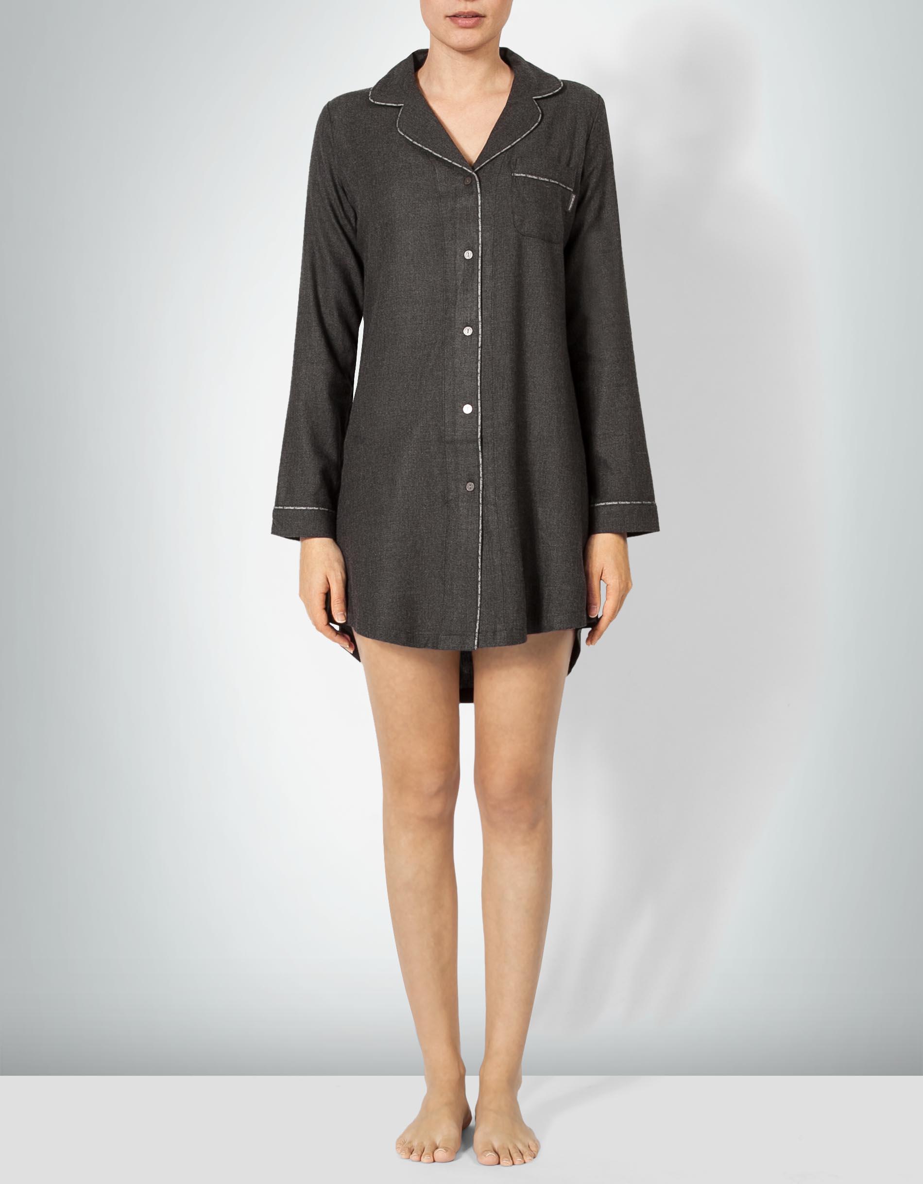 neuer Stil von 2019 größte Auswahl an professionelles Design Calvin Klein Underwear Calvin Klein Damen Nachthemd mit Logo ...
