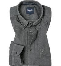 Wrangler Hemd smoked grey
