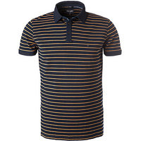 Wrangler Polo-Shirt indigo brown sugar