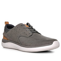 Clarks Garratt Lace grey nubuck