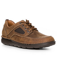 Clarks Unnature Time dark tan leather