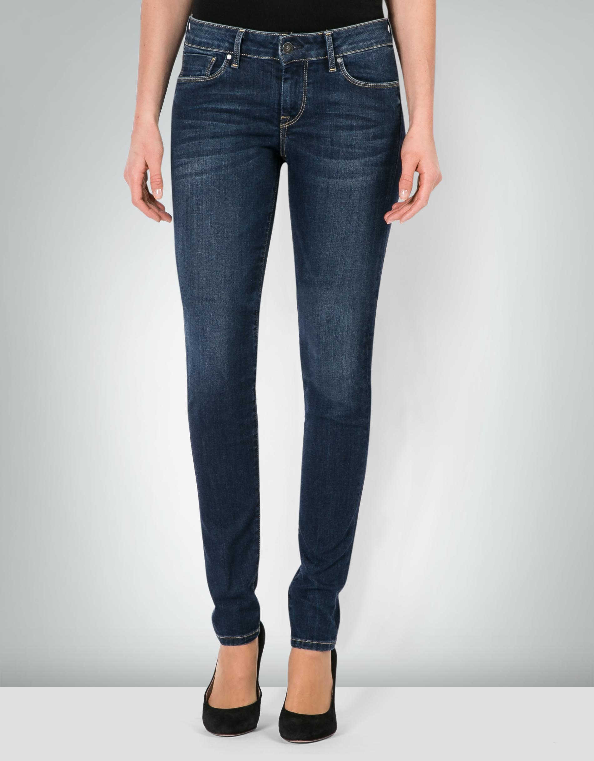 pepe jeans damen soho denim jeans im skinny fit empfohlen. Black Bedroom Furniture Sets. Home Design Ideas