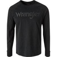 Wrangler T-Shirt schwarz