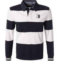 Aigle Rugby-Shirt Jifur dunkelblau