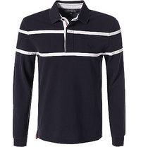 Aigle Rugby-Shirt Samo dunkelblau