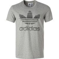 adidas ORIGINALS T-Shirt grau