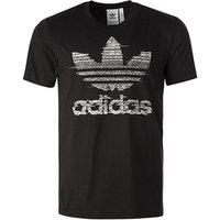 adidas ORIGINALS T-Shirt schwarz