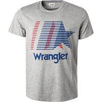 Wrangler T-Shirt grau