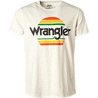Wrangler T-Shirt weiß