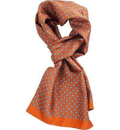 ETON Schal : ETON Schal  Herren in orange aus Seide